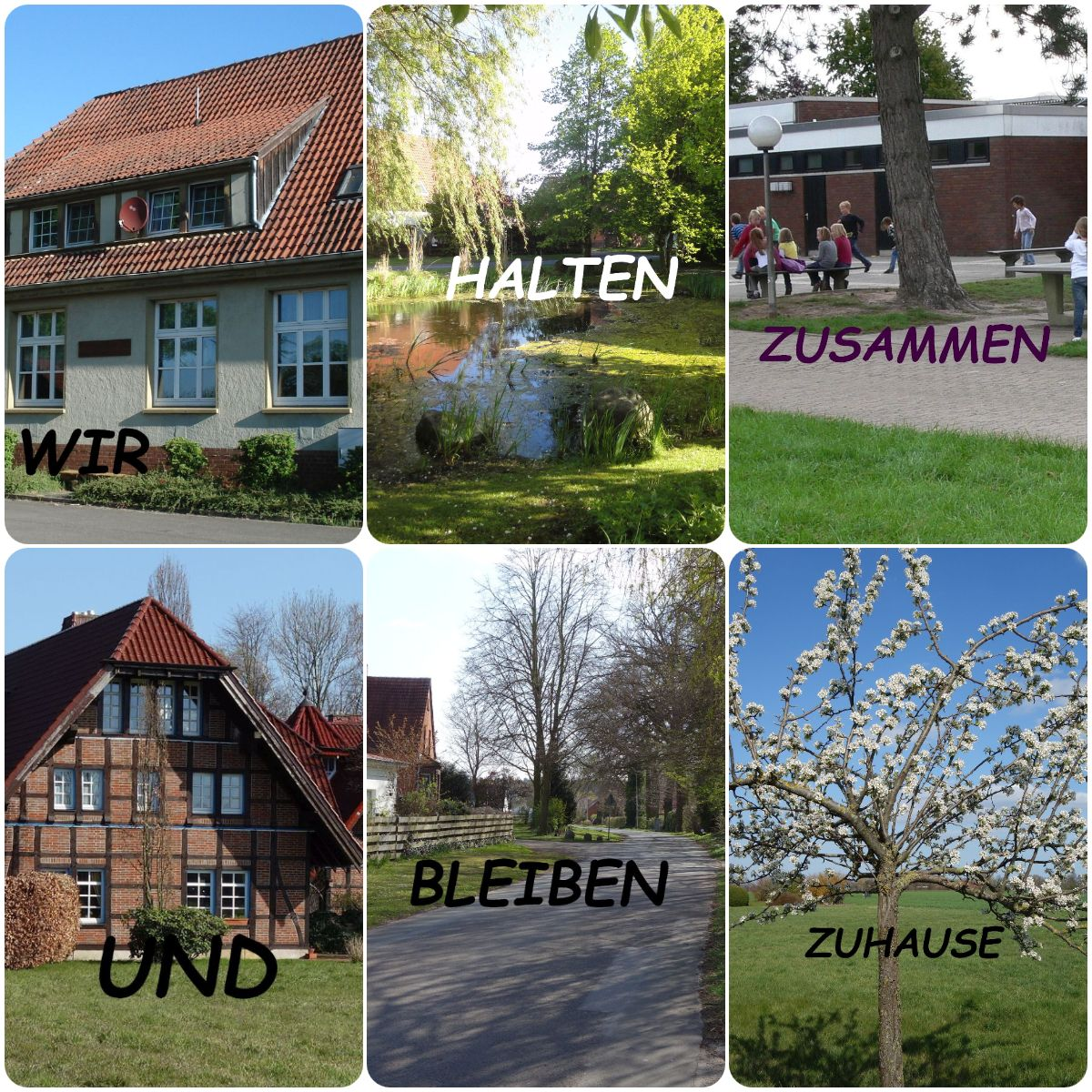 Dorf collage